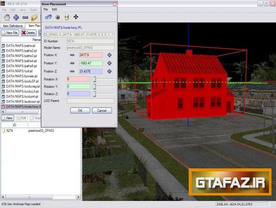 دانلود نرم افزار MapEditor 0.30 Beta برای (GTA 5 (San Andreas